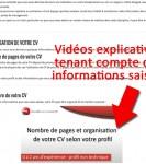 """capture d'écran 2 du """"Swiss CV tester"""""""