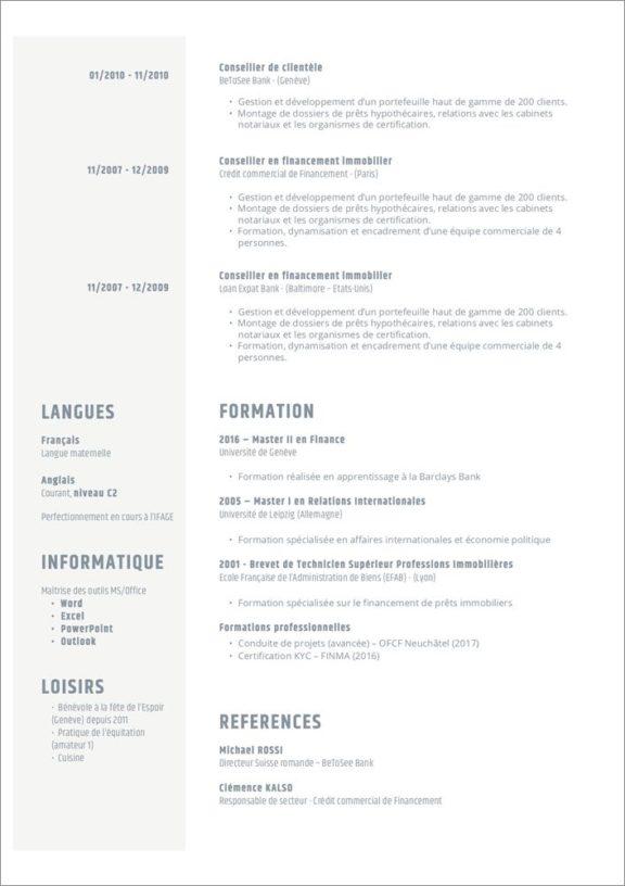 CV discret